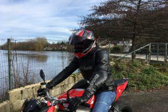 Liste de Noël d'équipements moto de Thibaud