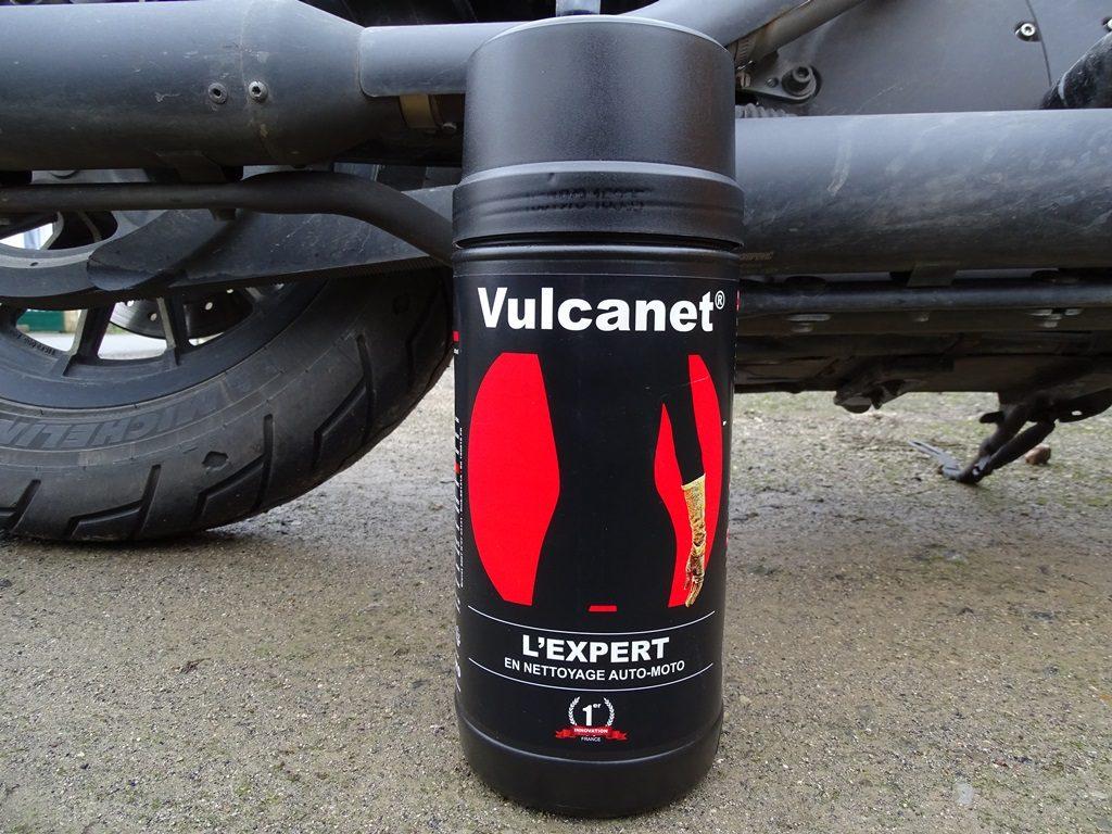Les lingettes Vulcanet dans leur emballage assez imposant