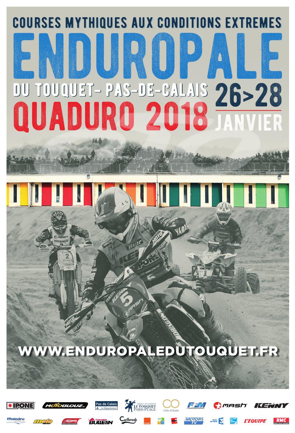 Affiche Enduropale 2018