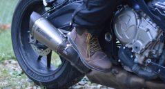 En avant pour l'essai des chaussures Falco Patrol