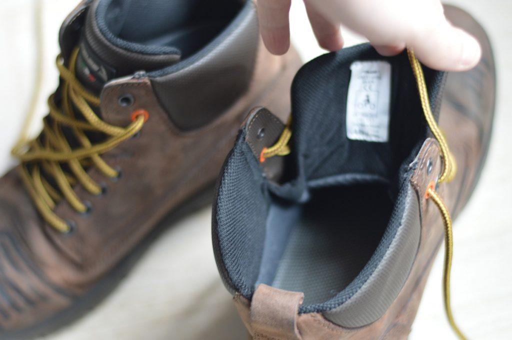 A quoi ressemblent les chaussures Falco Patrol à l'intérieur ?