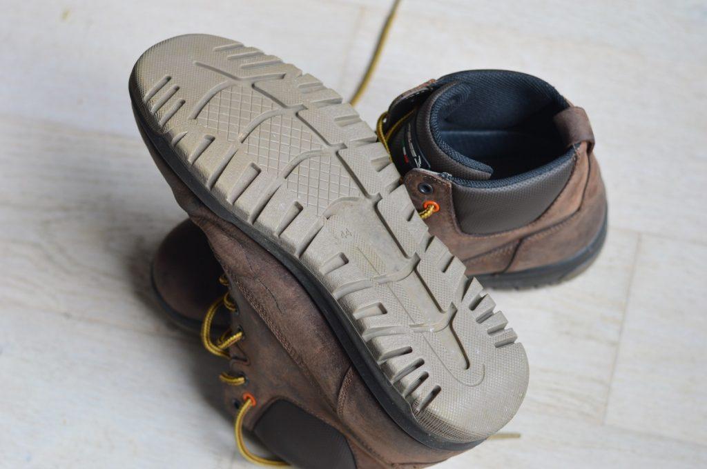 Zoom sur la semelle des chaussures Falco Patrol