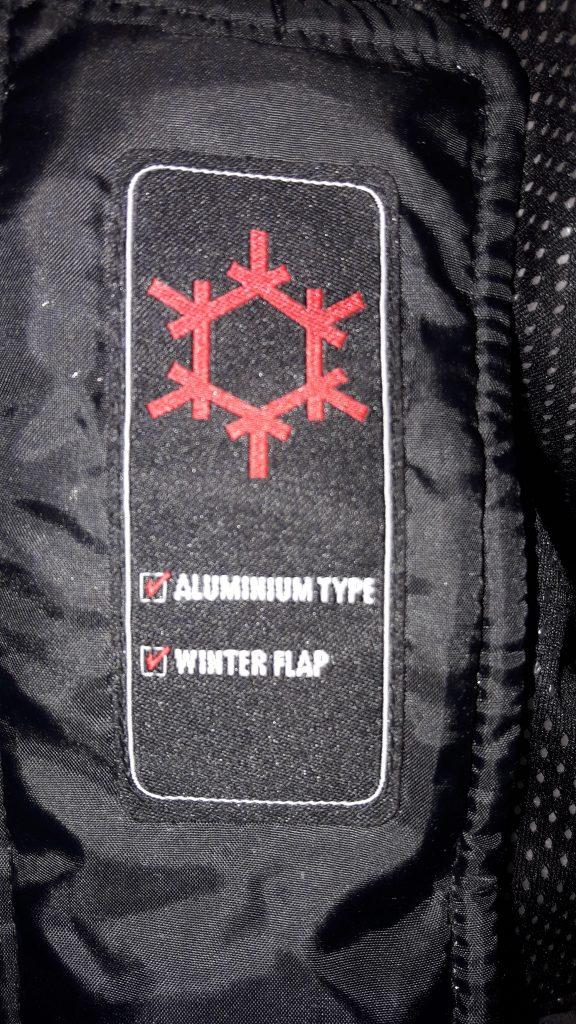 Logo spécial grand froid sur la veste Furygan Grizzly !