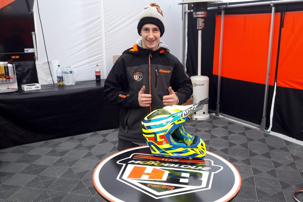 Thibault Maupin, l'ainé des pilotes du team Motoblouz HB Racing