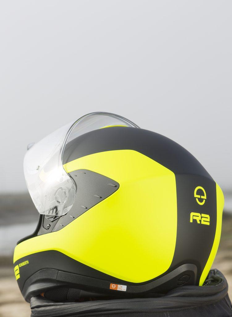 Le Schubert R2 est prévu pour une utilisation sur les motos plutôt sportives avec une position basculée sur l'avant