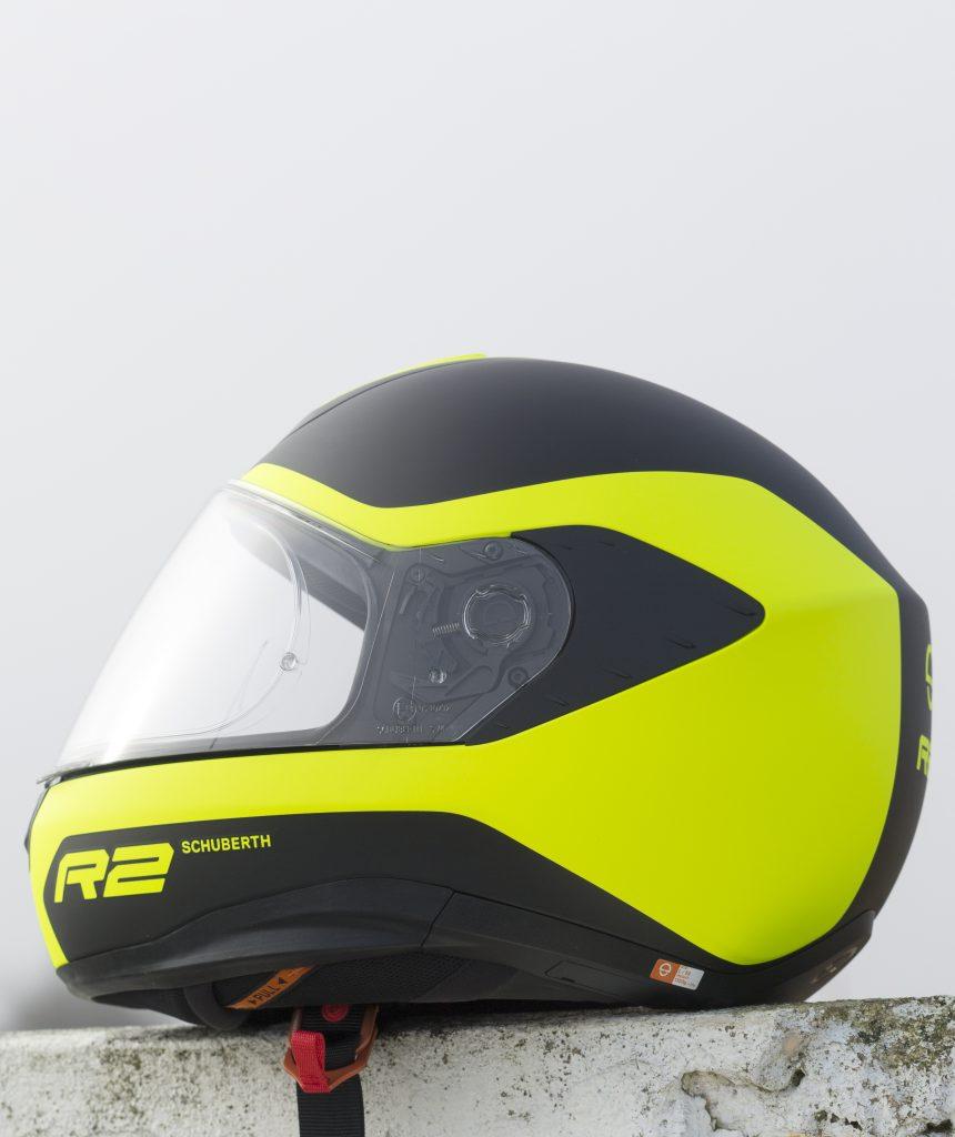 Le look de ce casque Schuberth R2 recueille de nombreux suffrages.