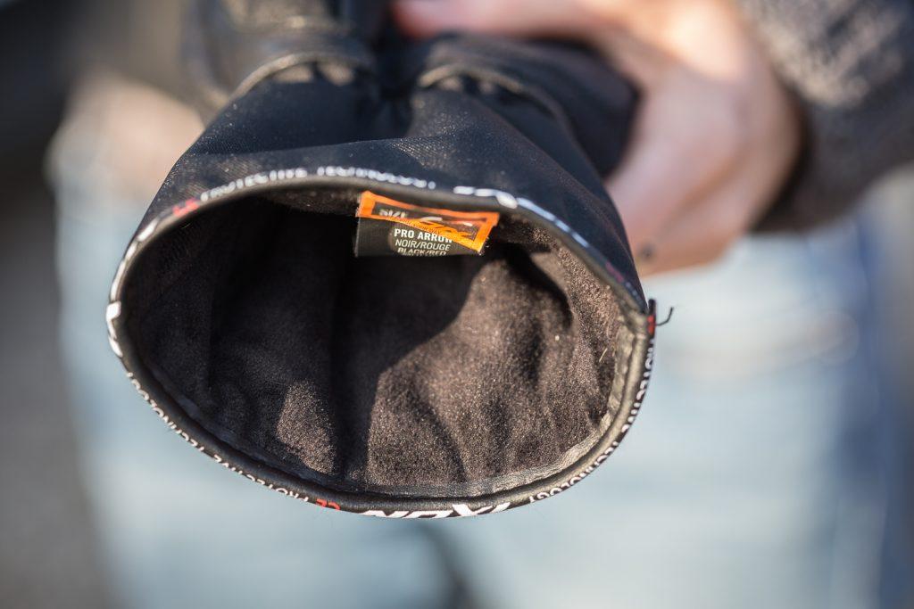 Gants d'hiver Ixon Pro Arrow, vue de la doublure intérieure