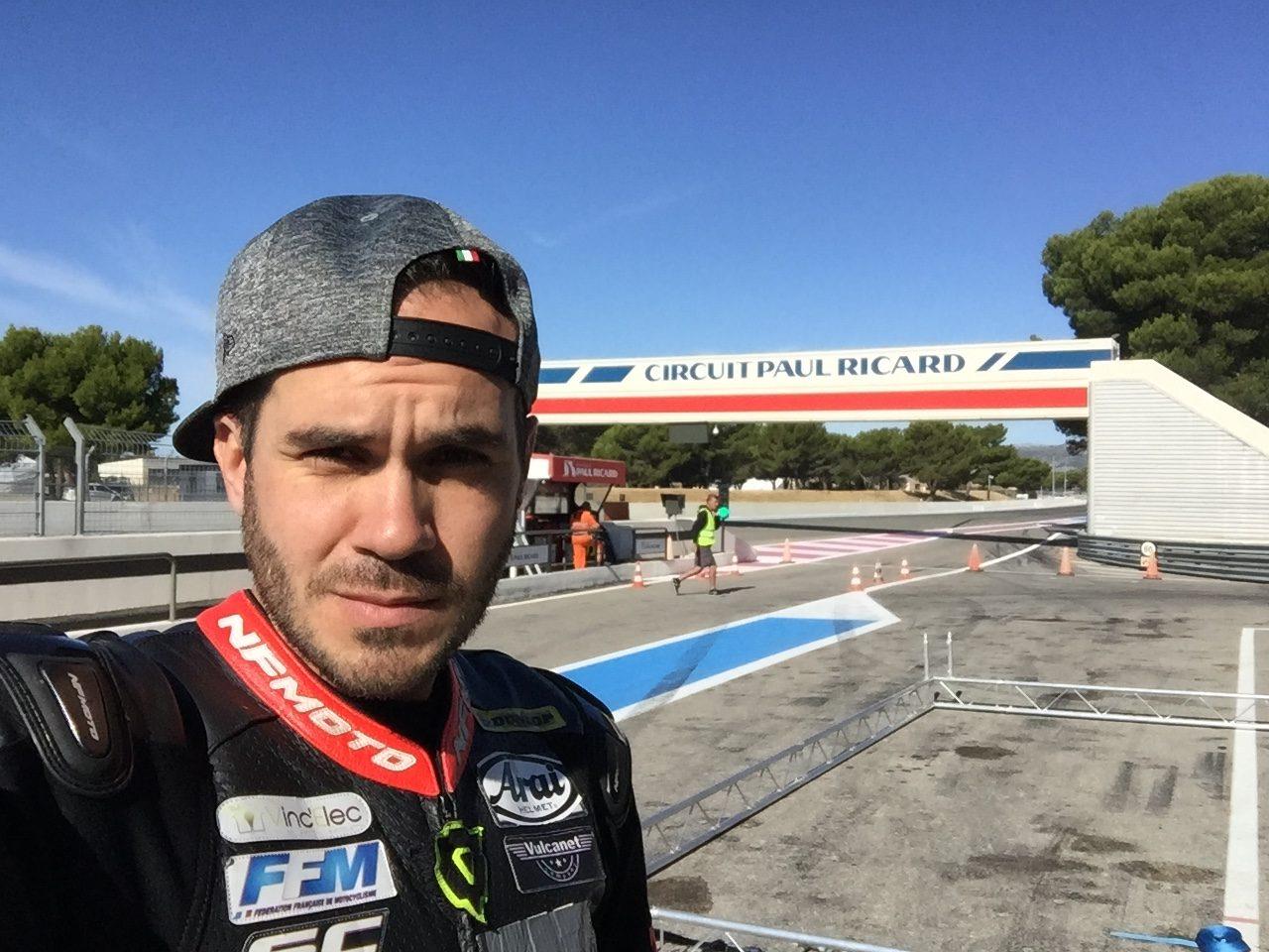 Mickael Giron , le p'tit dernier des pilotes Motoblouz !