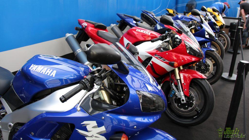 Yamaha célébrait les 20 ans de son emblématique R1!