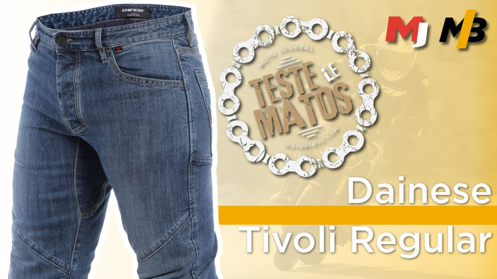Jean moto Dainese Tivoli, l'essai par Moto Journal