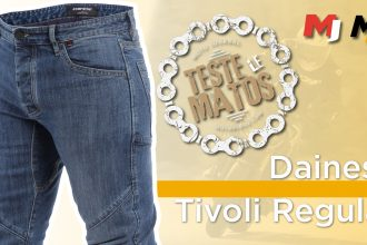 Essai jean moto Dainese Tivoli
