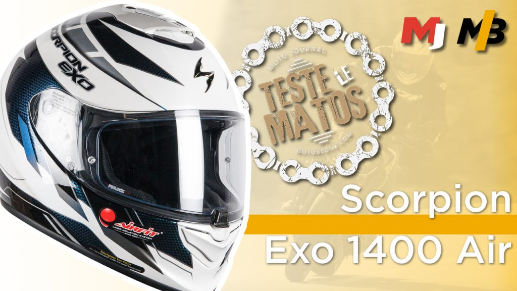 Vidéo : Moto Journal teste le Scorpion Exo-1400 Air !