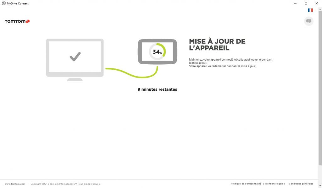 MyDrive Connect – installation mise à jour