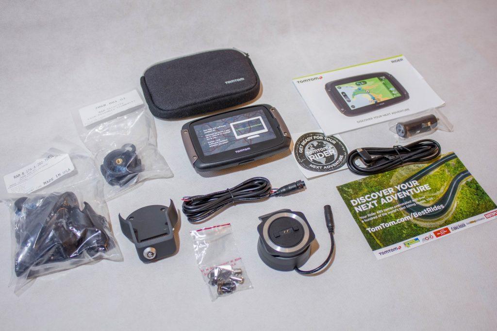 TomTom Rider 450 – Contenu du pack premium