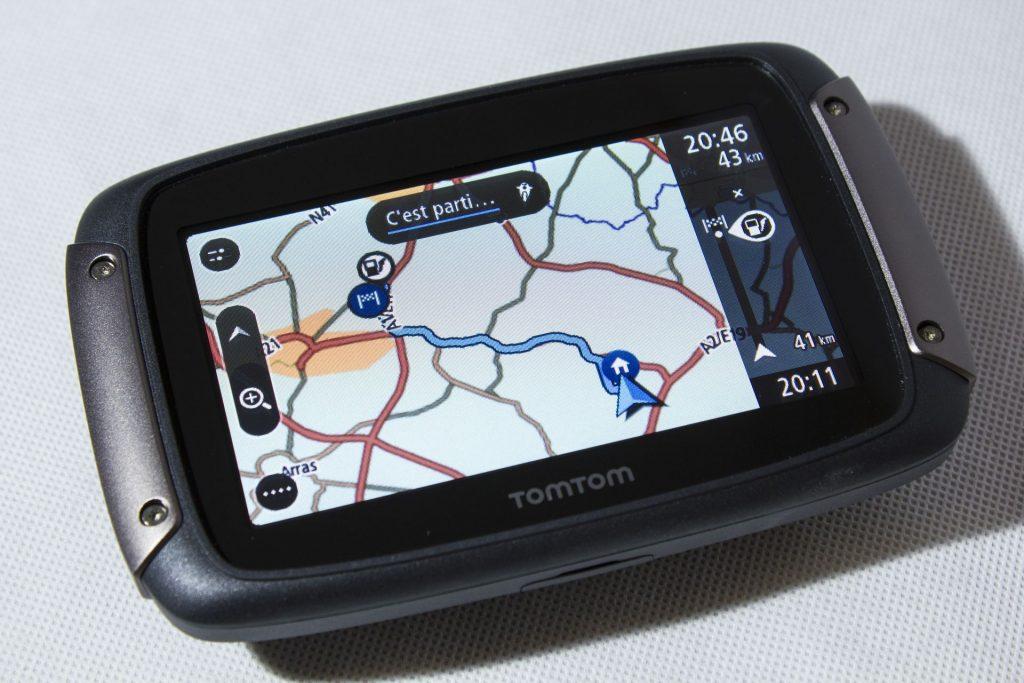 TomTom Rider 450 – Destination saisie