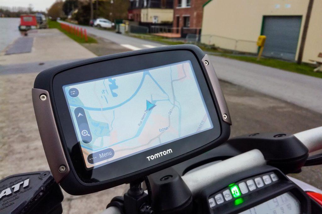 GPS TomTom Rider 450 – En route