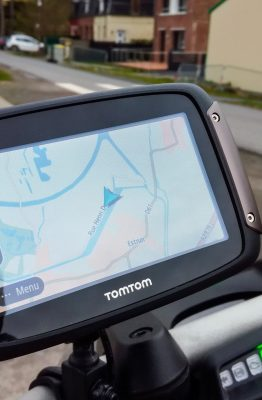 GPS TomTom Rider 450 - En route