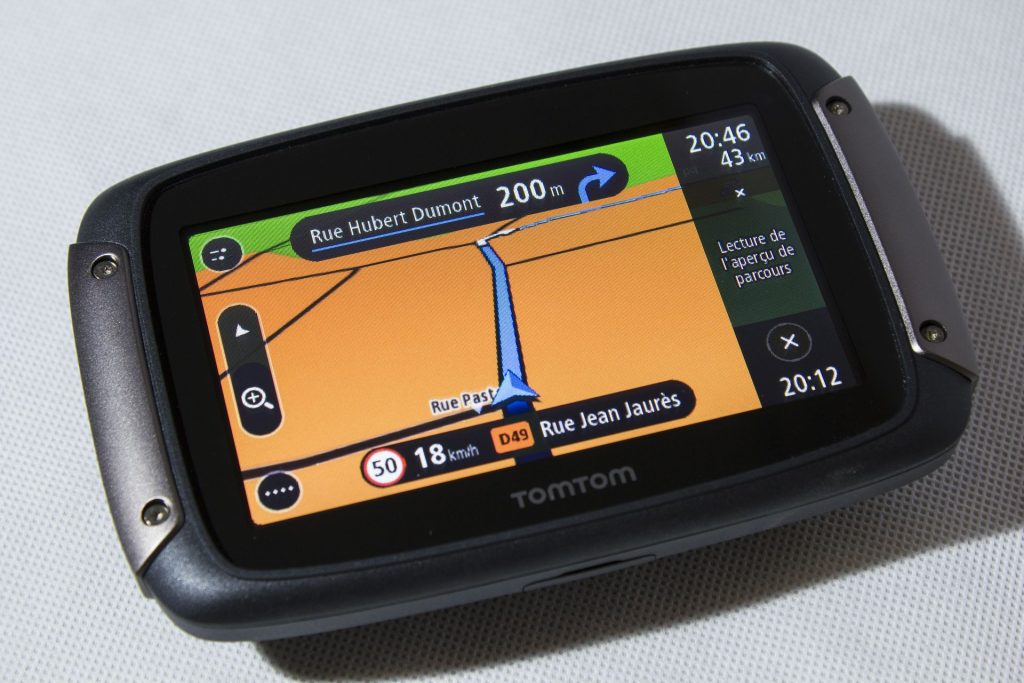 TomTom Rider 450 – Navigation