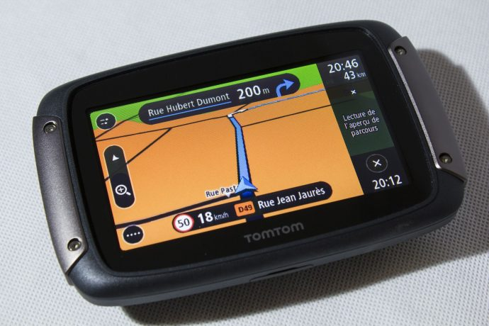 TomTom Rider - instructions de navigation
