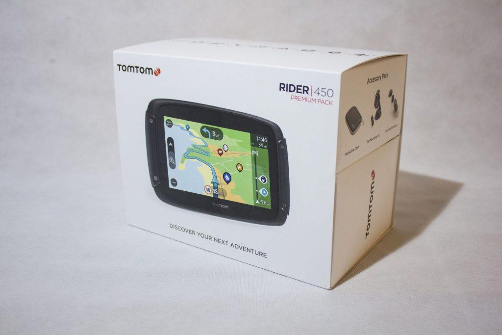 TomTom Rider 450 – Pack Premium