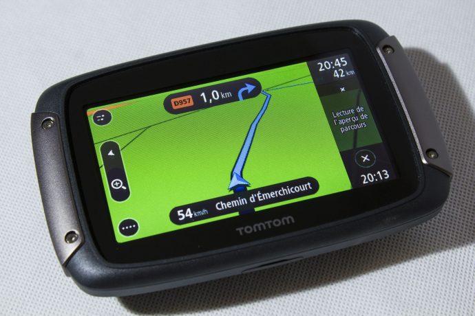 TomTom Rider 450 - Affichage 3D pendant la navigation