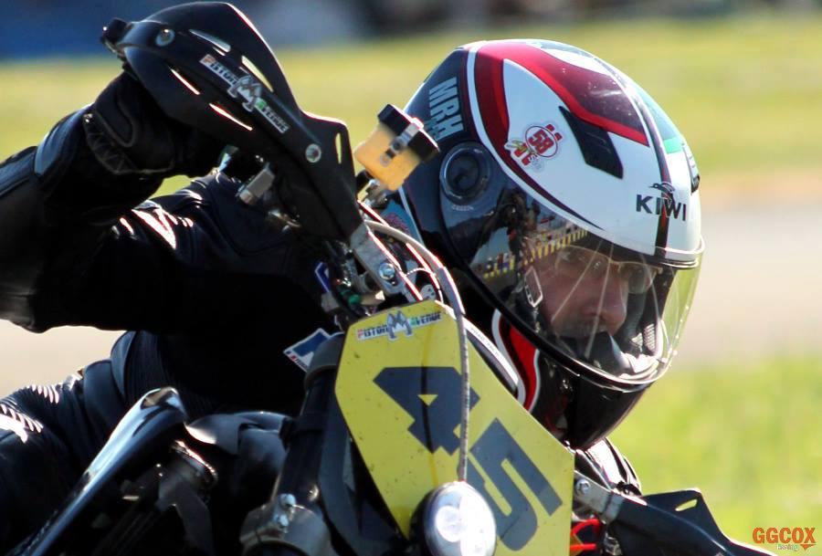 La passion et l'envie de rouler à moto ne m'ont jamais quitté
