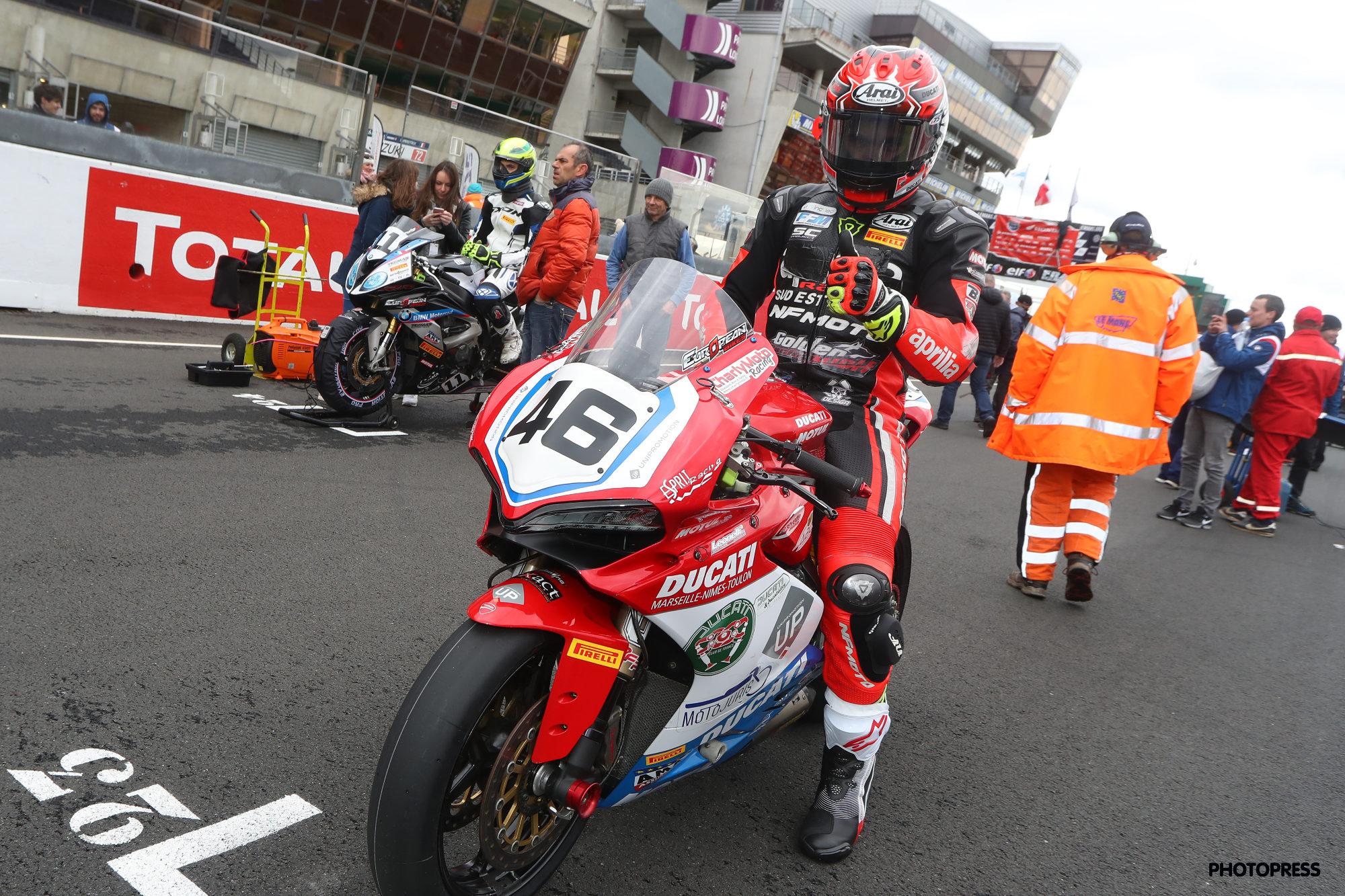 La Ducati a donné le meilleur d'elle-même sur la course