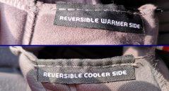 Le casque AGV SportModular présente un intérieur réversible : un côté chaud, un côté frais
