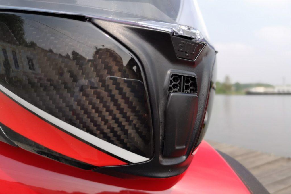 Casque AGV SportModular – ventilation mentonnière et verrouillage de l'écran