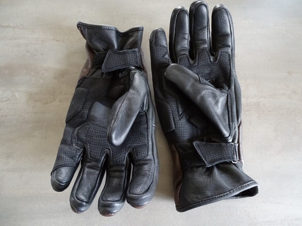 Les gants DXR TTR côté paume