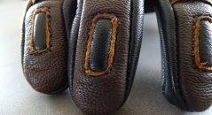 Détail découpe cuir