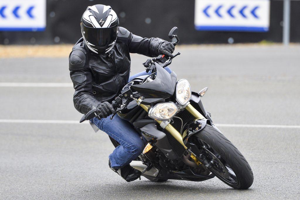Scorpion Exo-1200 air, test dynamique