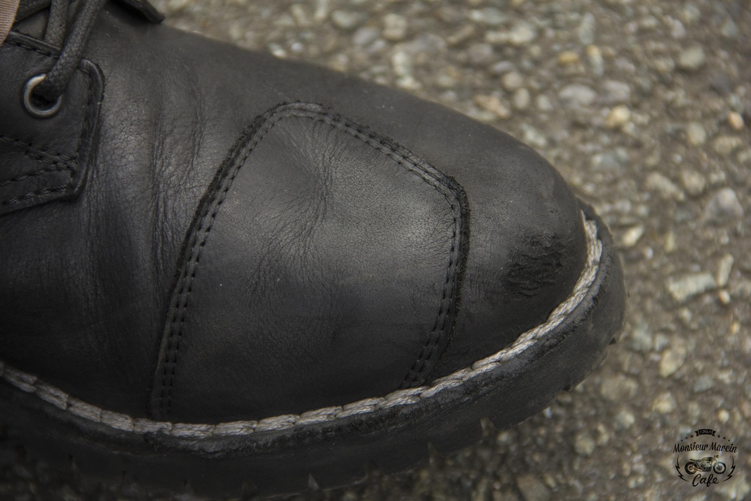 Mauvais positionnement du pied sur les TCX Boots Hero Goretex