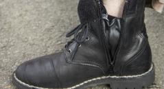 Zip latéral ouvert des TCX Boots Hero Goretex