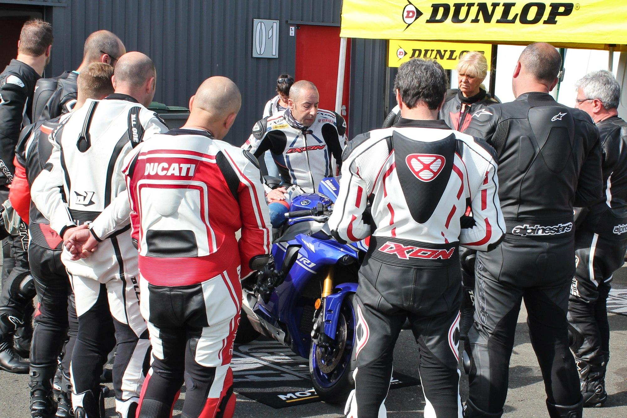 position moto stage DRRS Motoblouz