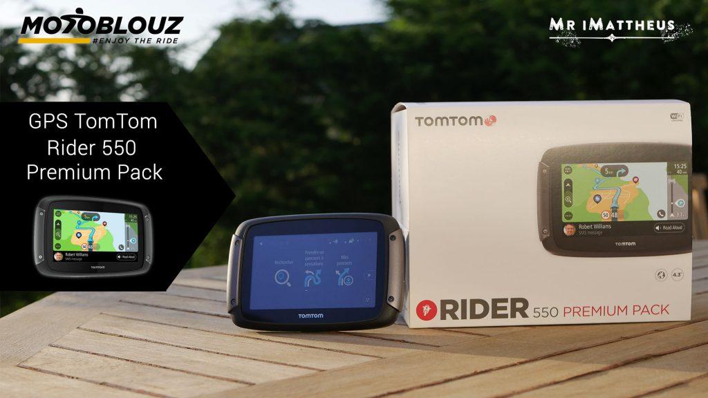 GPS TomTom Rider 550, plus fort qu'un smartphone ?