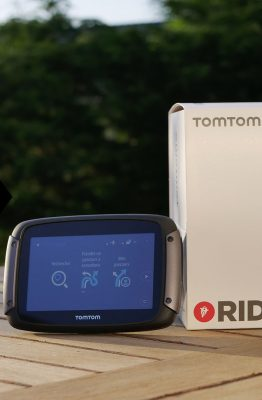 Essai GPS TomTom Rider 550