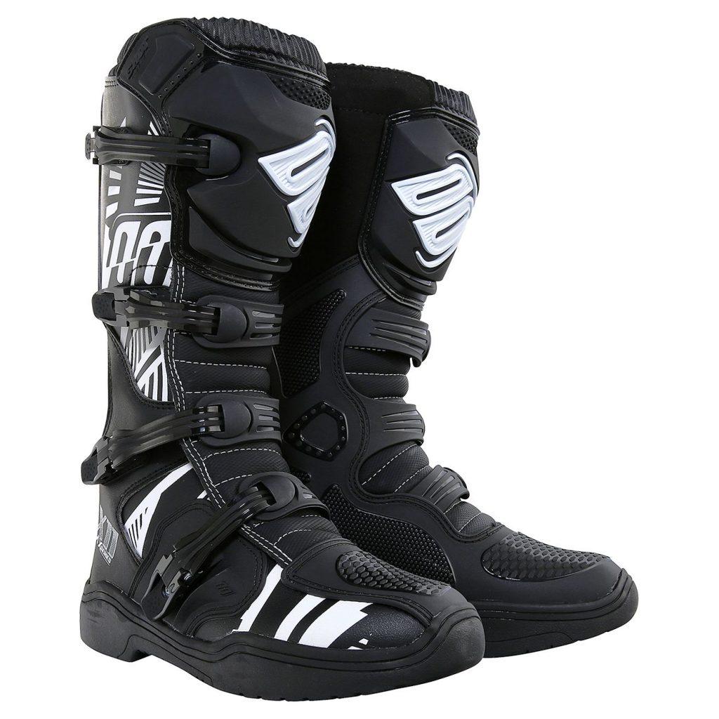 bottes-x11-noir-motif