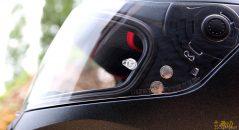 Ecran démontable prêt à recevoir Pinlock du casque Nolan N60.5 Special