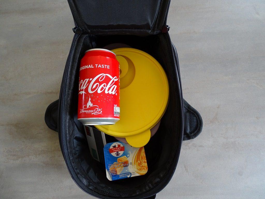 La sacoche Bagster D-Line Nitro permet d'emporter son casse-croûte pour le boulot