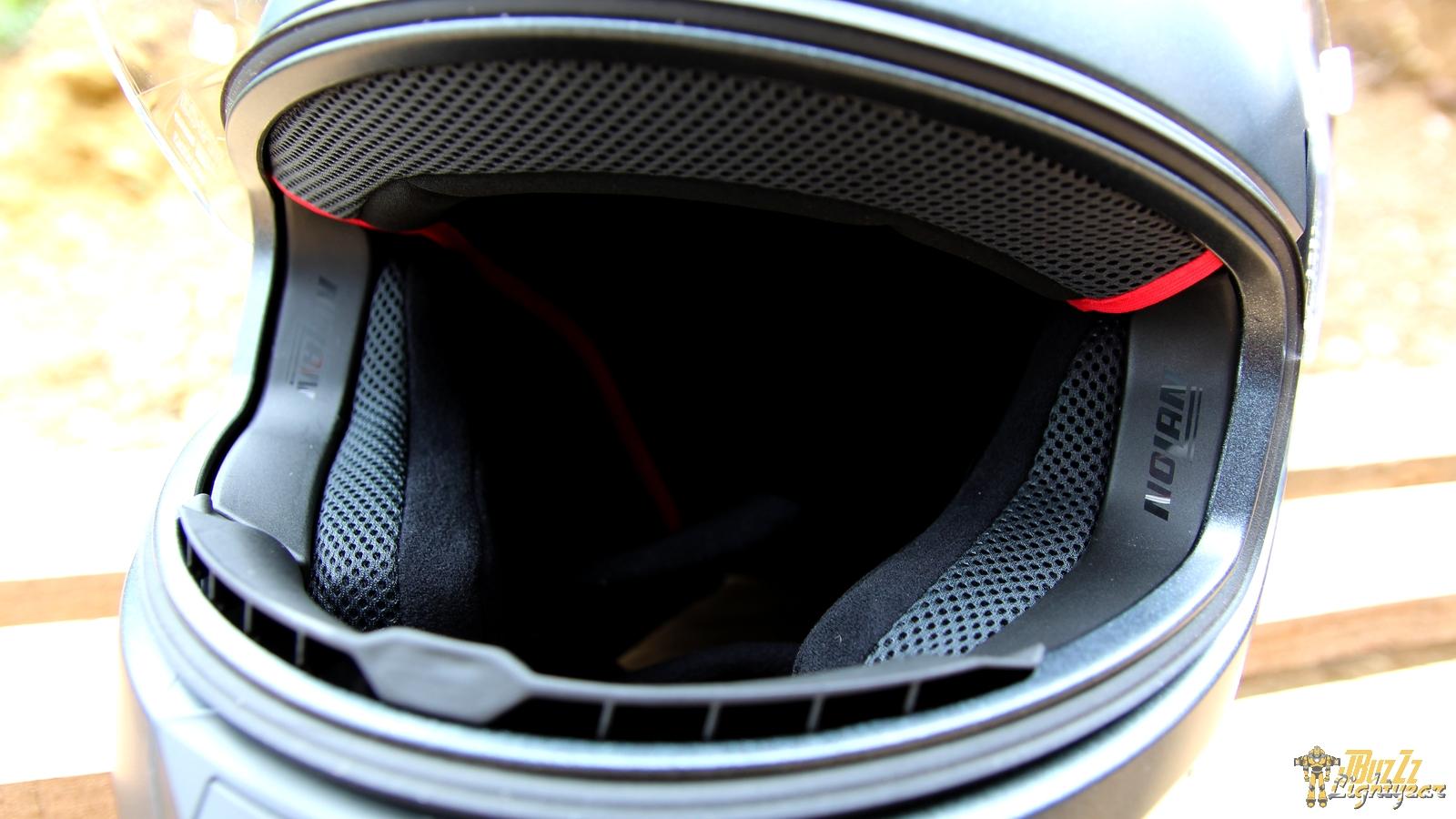 Large champ de vision pour le casque Nolan N60.5 Special
