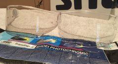 L'écran photochromique Shoei CWR-1 et écran incolore, en comparaison