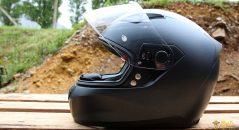 Arêtes sportives et coque en thermoplastique sur le casque Nolan N60.5 Special