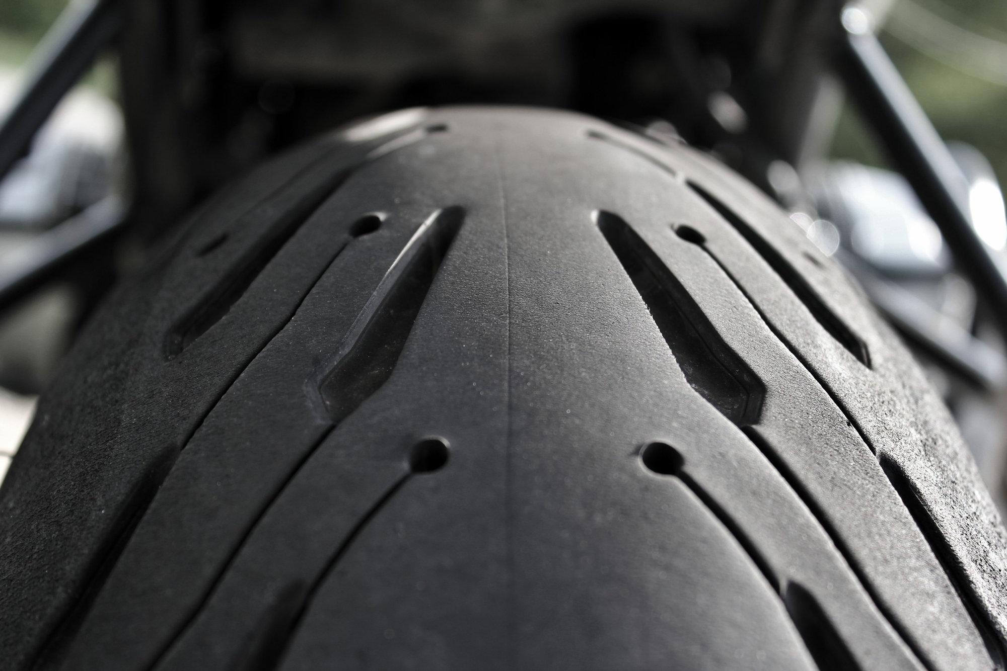 Usure Michelin Road 5 à 3000 km