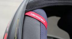 Système d'extraction d'urgence sur le casque Scorpion EXO-2000 Evo Air