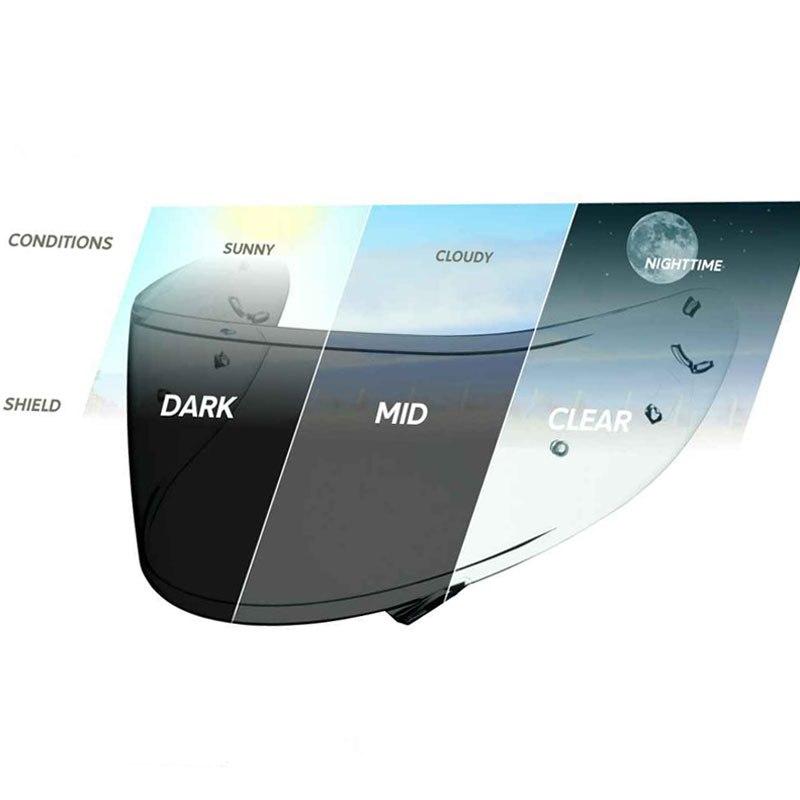 Ecran photochromique Shoei CWR-1