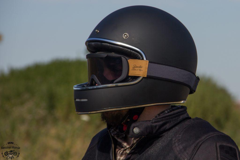 Le casque Dexter Marty, bien rétro, offre une expérience temporelle passionnante