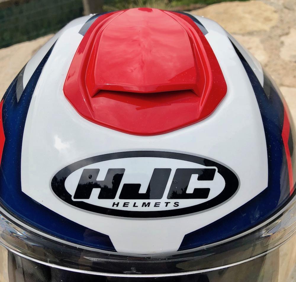 Plan sur le système de ventilation du casque HJC RPHA 90