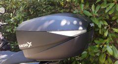 Esthétique du top case Shad SH 58X en position XL