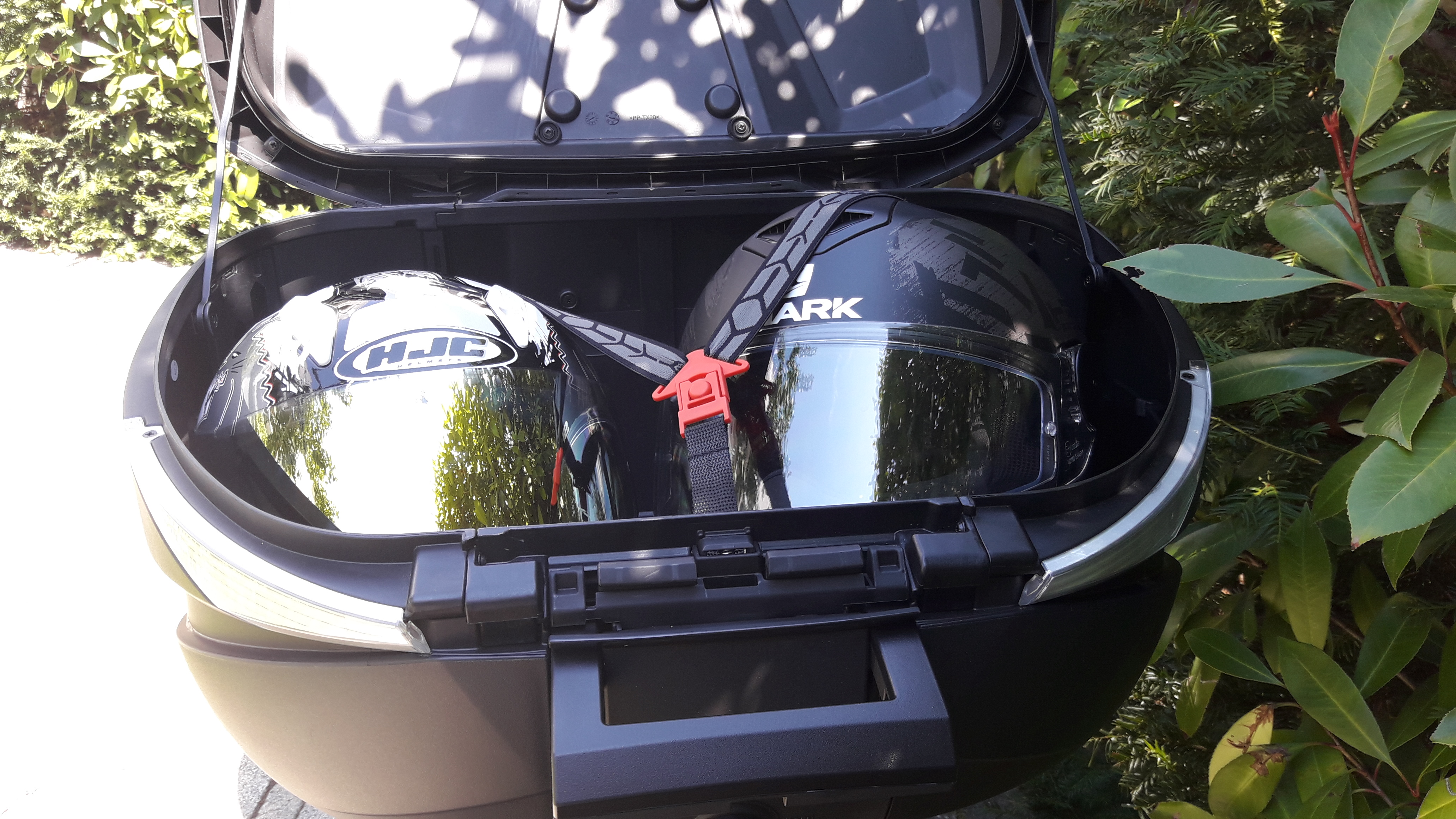 Contenance XL du top case Shad SH 58X